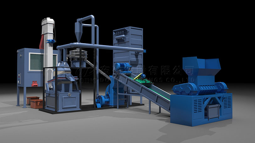 PCB board recycling machine for sale separate printed